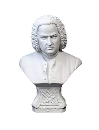Kämmer Porzellanfigur Büste Johann Sebastian Bach groß