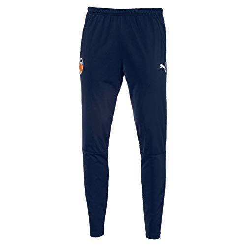 PUMA Valencia CF Temporada 2020/21-Training Pants with Zipped Pockets a Pantalón, Unisex, Azul, S