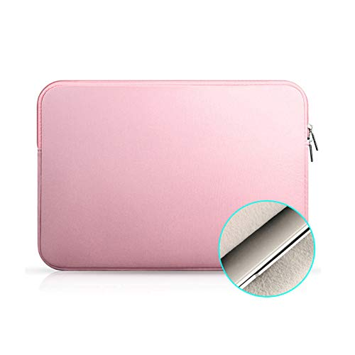 AOUVIK Laptop Notebook Case Tablet Sleeve Cover Bag 11' 12' 13' 15' 15.6' for Macbook Pro Air Retina 14 inch for Xiaomi Huawei HP Dell,Pink,7.9