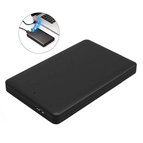RENQUNCANG USB 3.0 2.5 Inch HDD Box Sata naar USB Externe Harde Schijf Enclosure, Gereedschap Gratis Super Speed Harde Schijf Case Ondersteunt Tot 2 Tb capaciteit, Voor 2.5