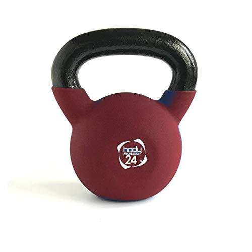 Body Revolution Neoprene Manubrio – Gomma Rivestiti Ghisa Kettlebell Ghiria (2kg To 24kg) - 10kg