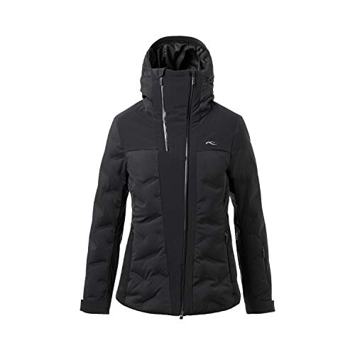 KJUS Women ELa Jacket Schwarz, Damen Daunen Isolationsjacke, Größe 36 - Farbe Black