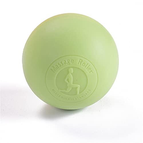 JSBAN 2021 Bola de Masaje de Silicona Relajarse Bola de Yoga Relajante Deportes Presión Muscular Relajación Ejercicio Equipo de Fitness Cacahuete (Color : Green)