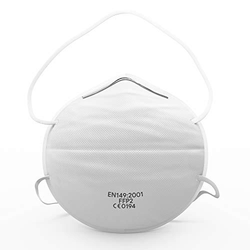 Atemschutzmaske FFP2 (10 STK.) - Ultimativer Atemschutz & Tragekomfort - Premium Sicherheitsmasken für zuverlässigen Schutz gegen Staub, Aerosol & flüssige Partikel