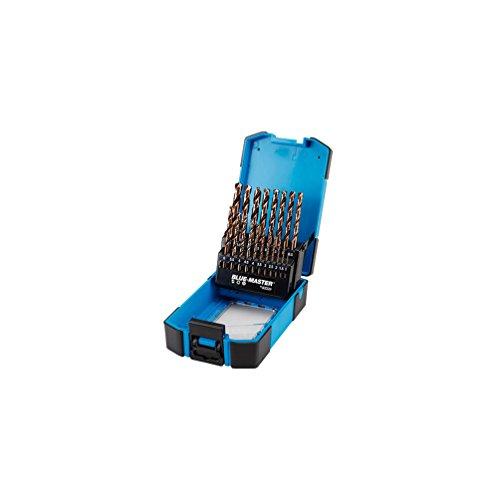 Blue-Master–Coffret ABS 19brocas HSS cobalto D. 1A 10mm–PC6010–BLUE-MASTER