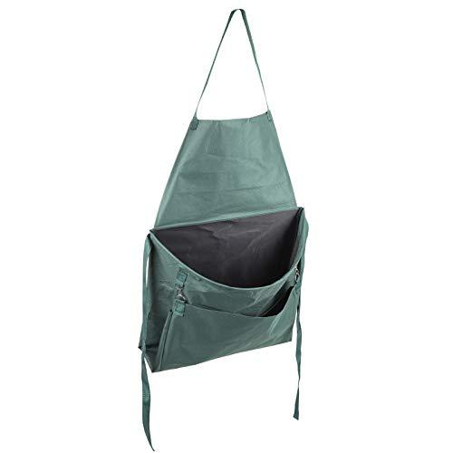 Gartenschürze - mit breiter Öfnnung als Sammelsack - mehrere Taschen - Wasserdicht - Ernteschürze - Erntehelfer - Sammelschürze - Pflückschürze - Unkrautsammeln - Gesamtlänge 110/77cm - Sammelsack
