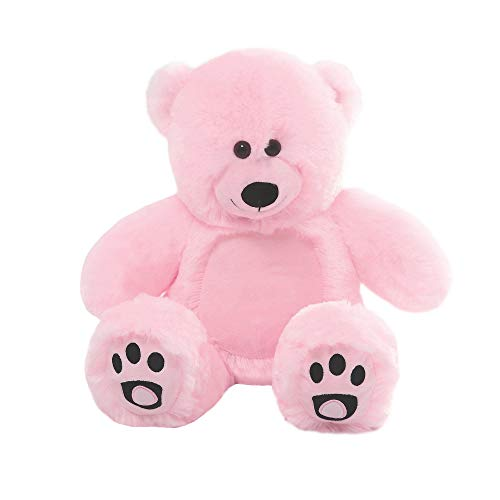 YXCSELL Teddy Bear Stuffed Animal Toy Doll Pink 10 Inches Home Decoration