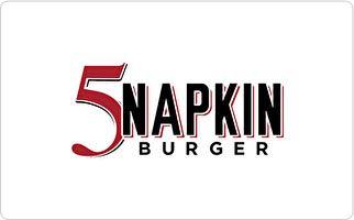 5 Napkin Burger Gift Card ($100)