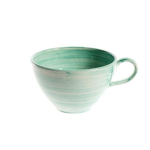 Taza Desayuno Jumbo 15 cm Verde Agua
