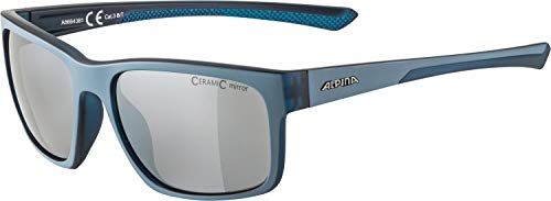 ALPINA Unisex- Erwachsene, LINO I Sportbrille, dirtblue transparent matt, One Size