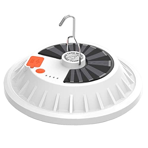 NIDONE Carpa Linterna Camping Luces solares de la Noche 60 LED de la lámpara de 60W USB Recargable portátil de Emergencia Senderismo Pesca