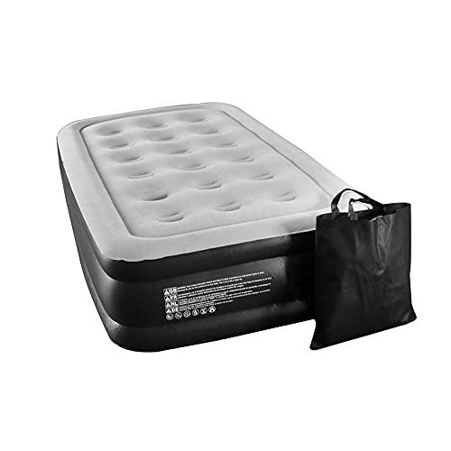 Molino Selbstaufblasendes Gästebett für 1 Person - Luftmatratze - eingebaute Elektropumpe für Schnelles Aufblasen - Premium Qualität, Wasserfest, Beschädigungsbeständig