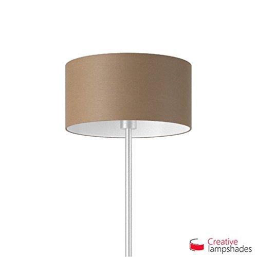 Creative lampshades lampenkap cilinder bruingrijs Arenal Amerikaans F10 Durchmesser 35cm - H. 22cm
