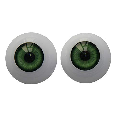 DOGZI Muñecas Reborn 22mm Bebé renacido Ojos de muñecas Ojos Redondos de acrílico