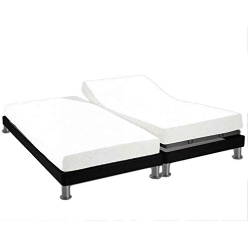 Soleil d'Ocre 617800 - Sábana algodón ajustable para cama, Blanco, 2x80x200 cm