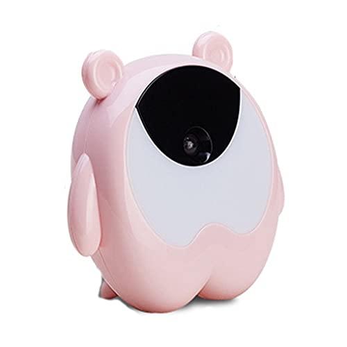Yousiju Lindo Reloj de Alarma Lindo Colorido Night Light Reloj Inteligente con Sensor de Despertador Sensor Mesa de Noche Reloj Niños Regalos (Color : A)