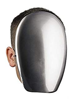 Disguise Costumes No Face Chrome Mask Adult