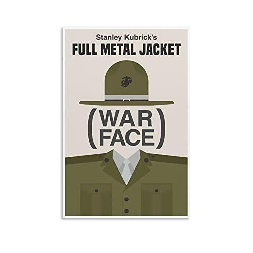 GAOZI Póster de Nick Mercer's Full Metal Case, póster de película, lienzo y arte de pared, impresión moderna para dormitorio familiar, 40 x 60 cm
