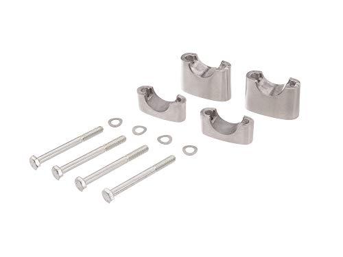 FEZ Set: Lenkerauflage untere + obere - für Simson S50, S51, S70, Enduro