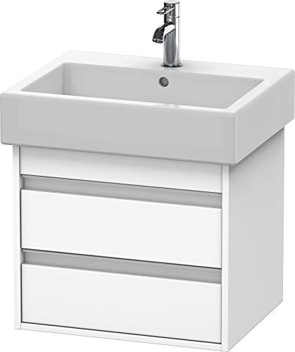 Duravit Waschtischunterschrank wandhängend Ketho 440x550x410mm 2 SchKa, für 045460, weiss matt, KT66