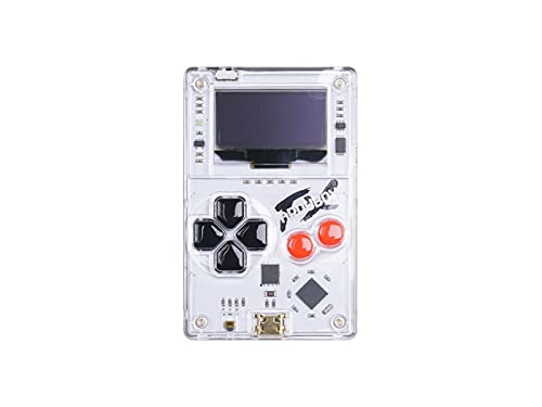 Arduboy FX - Open Source Card-Sized Gaming Board,ATmega32u4 ,32KB Flash,2.5KB RAM,1KB EEPROM