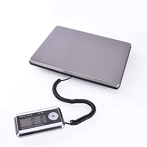 IVQAPP Digital Scales Accurate Weighing Scales European Electronic Express Said White 200kg 0.1kg Display Daily Necessities Weigh Food