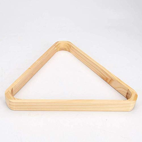 WXS Verdicken Holz Dreieck Billiard Rack Billard Billardtisch Zubehör Hält Standard 52.5mm Sized Ball Pendelrahmen