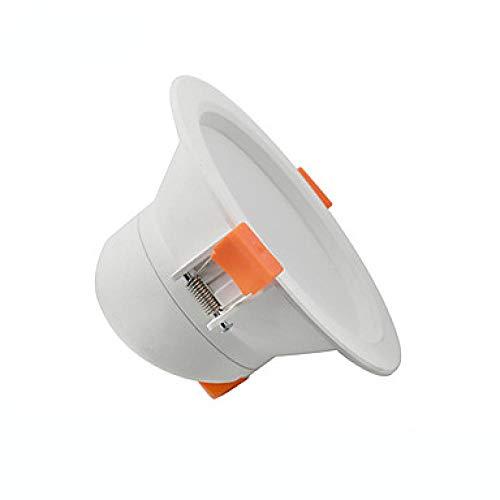 LED Einbau Downlight 3W 5W 7W 12W Decken-Spotlampe Home Innenbeleuchtung Decke Flachlicht-Warmweißes Licht_7W