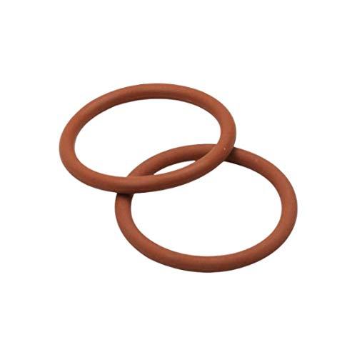 2 Pcs Braune O-ringe 65mm x 3mm | Fluorkautschuk - FKM/FPM Dichtungsringe Dichtung Gummidichtung Oring 65x3 HÄRTE 75 ShA| Dichtungen Gummiringe Set | O-ringe Sortiment | Dichtungssatz Sanitär