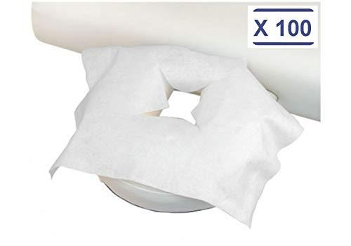 déliktess® - Housse protège têtière jetable pour table de massage par 100