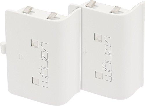 Replacement Battery Packs for Venom Docking Station - White - Xbox One [Edizione: Regno Unito]