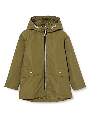 NAME IT Mädchen NKFMILVA Jacket Jacke, Winter Moss, 128