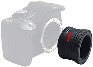 Astromania Canon EOS-M T2 Mount Lens Adapter for Canon EOS-M Camera System Telescope/Spotting Scope Accessories