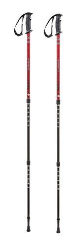 Ferrino GTA Bâtons de randonnée Rouge 60-135 cm