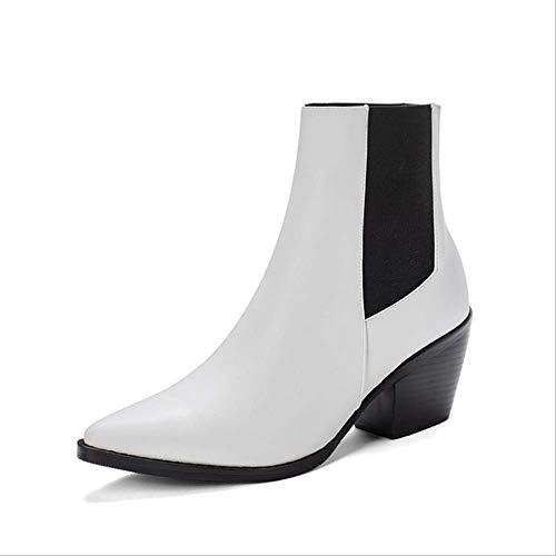 SHZSMHD Snake Print Heels Damesschoenen, boten Chunky Western laarsjes, cool boot voor vrouwen