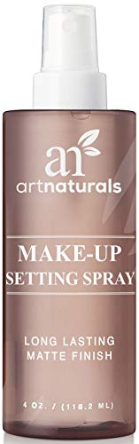 ArtNaturals Make-up Fixier Spray - (4 Fl Oz / 118.2ml) - Fixing Spray für Make Up - Setting Mist mit Matt Effekt - mit Aloe Vera