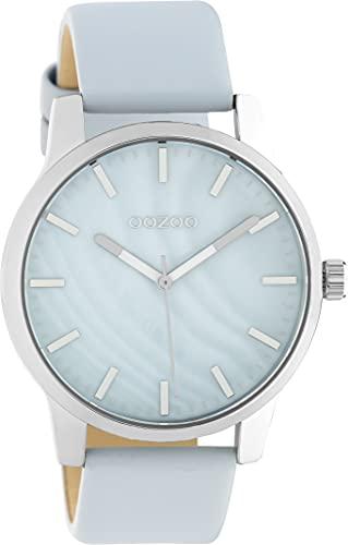 OOZOO Timepieces Damen Uhr - Armbanduhr Damen mit 20mm Lederarmband | Hochwertige Uhr für Frauen - Edle Analog Damenuhr in rund C10726