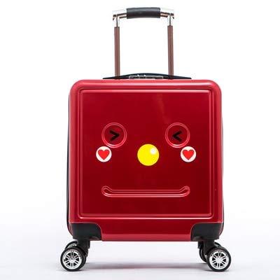 Mdsfe HOT 18 inch Cute Cartoon students trolley case child 3D Travel luggage kids rolling suitcase fashion Wheels boy Boarding box - 2.16'