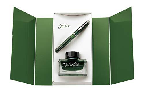 Pelikan M205 pluma estilográfica Verde Converter filling system - Pluma estilográficas (Verde,...