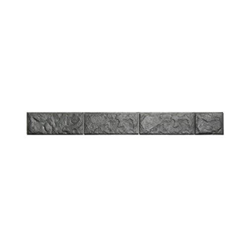 HBOS Selbstklebende Tapete Bordüre Aufkleber 3D Marmor Ziegel Textur Abnehmbare wasserdichte Wandtattoo Dekoration für Wohnzimmer Bad Küche Fliesen - 10 stück