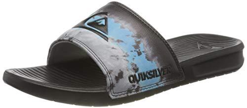 Quiksilver Bright Coast Print, Chanclas Hombre, Black Blue Black, 42 EU