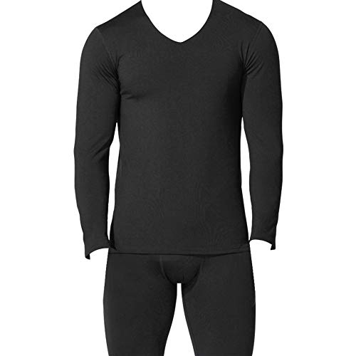 Lefuku Thermische Ondergoed Mannen Set Plus Size Warm Winter Baselayer Ondergoed, Ultra Dunne Thermische Compressie Basislaag, Perfect voor Workout Skiën Hardlopen Wandelen