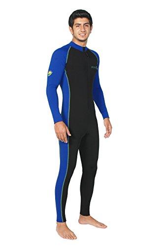 Sun Protective Stinger Swimsuit Dive Skin Chlorine Resistant UPF50+ Black Royal L