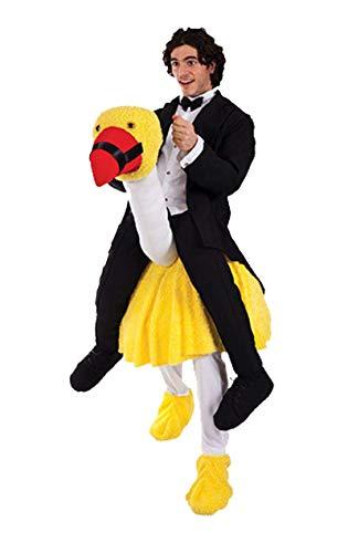 ORION COSTUMES Vogel Strauß Reiter Kostüm Karneval Fasching Verkleidung Herren