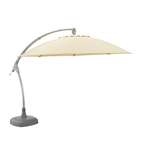 KETTLER Advantage Schirme easy-comfort Ampelschirm Durchmesser 330 cm, UPF 50+, inklusive Abdeckhaube, 0306233-0800, mehrfarbig
