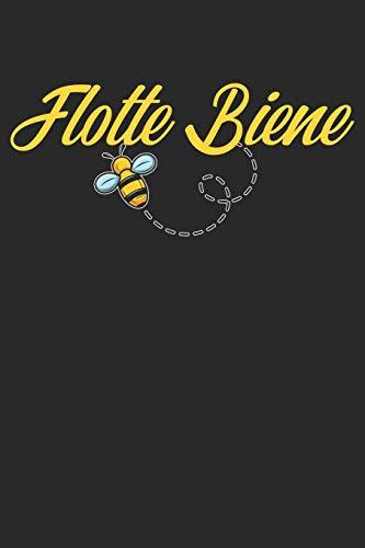 Flotte Biene: A5 Kalender Wochenplaner Planer Bienen | Biene | Imker | Honig | Insekten | Imkerei | Lustig | Humor | Witzig | Spruch | Geschenk