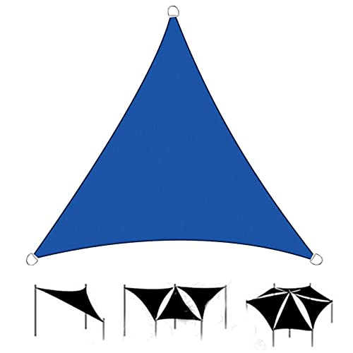 HRD Triángulo Sun Shade Sail 2x2m 3x3m anti UV e impermeable toldo toldo caqui negro gris para playa coche jardín comercial