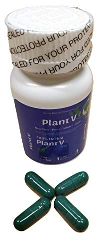 Herbal Plant V Miracle Leaf - 12 Count Bottle Nature's Remedy for Top Male Enhancement