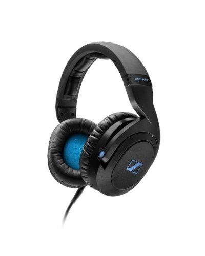 Sennheiser HD 6 Mix DJ Headphones (Black), Multi-Colored