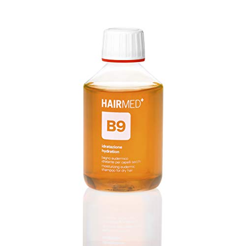 HAIRMED - B9 Shampoo Idratante Professionale - Shampoo Idratante Capelli Mare e Doposole - 200 ml